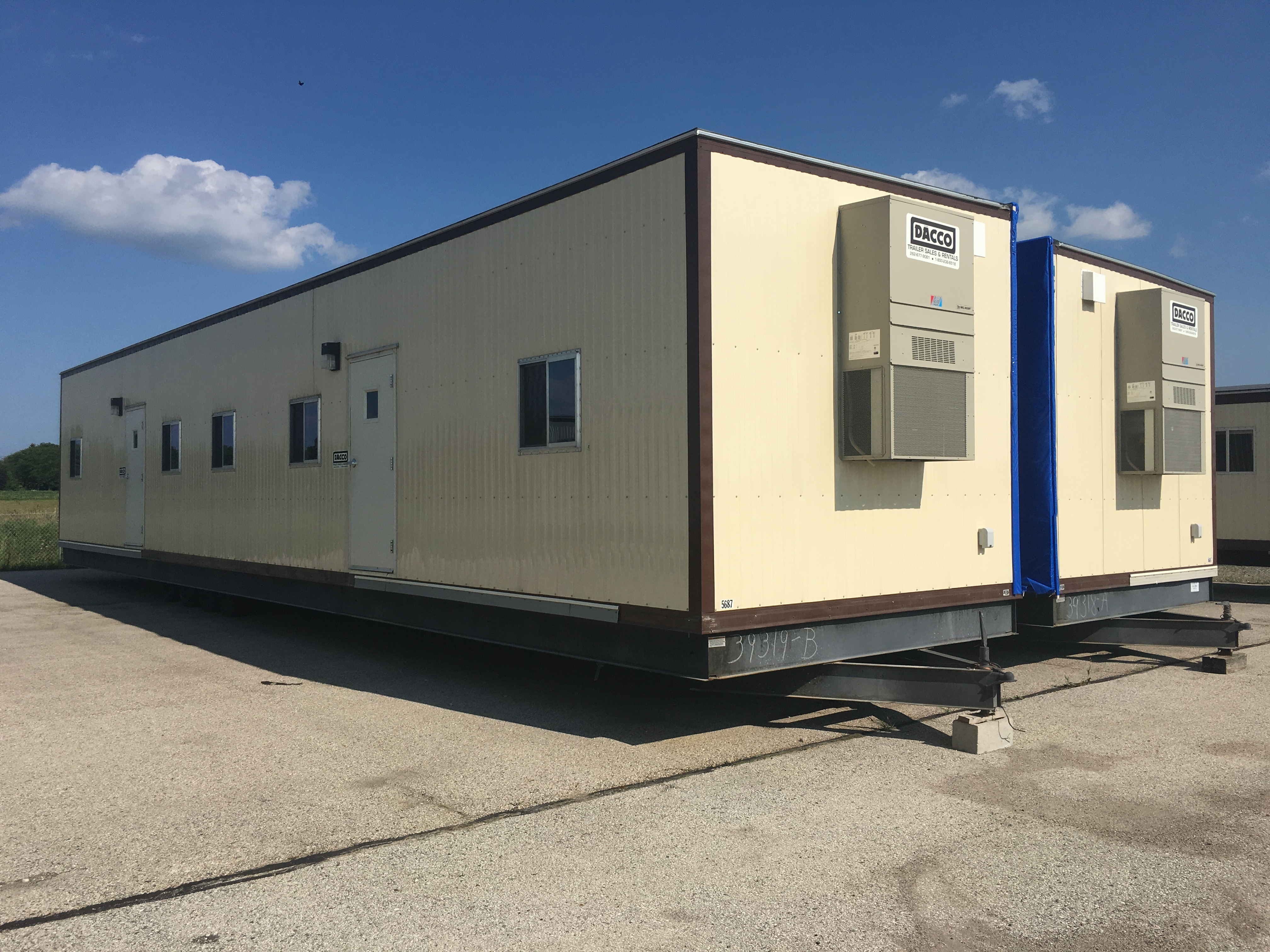 24 X 60 Mobile Office Dacco Trailers